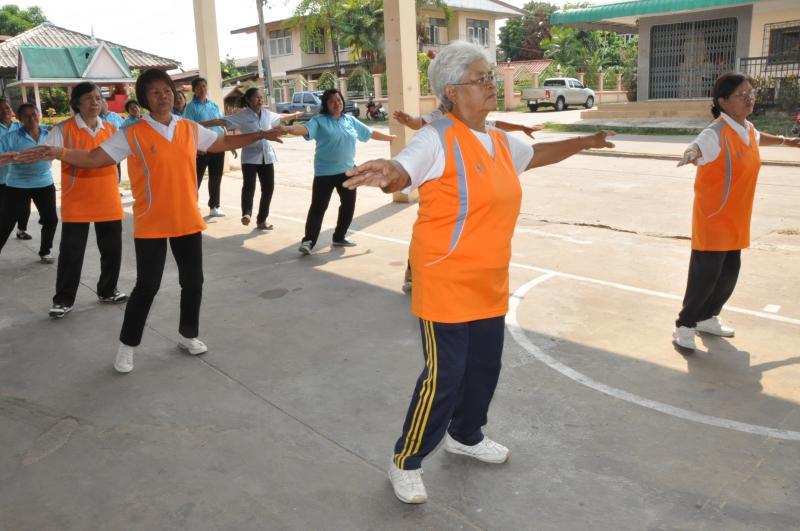 ผู้สูงอายุกับการออกกำลังกาย